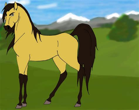 spirit 2 stallion of the cimarron drawings spirit stallion of the cimarron by elfithilwen on deviantart