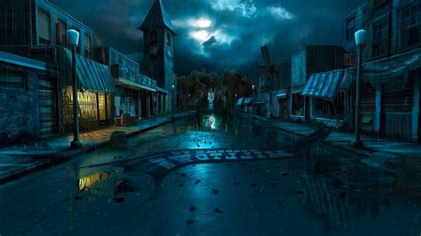 dark village wallpaper dark village art wallpaper hd 15498 wallpaper cool