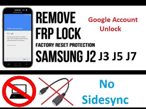 in how to remove bypass account frp on samsung galaxy j2 j1 without pc otg
