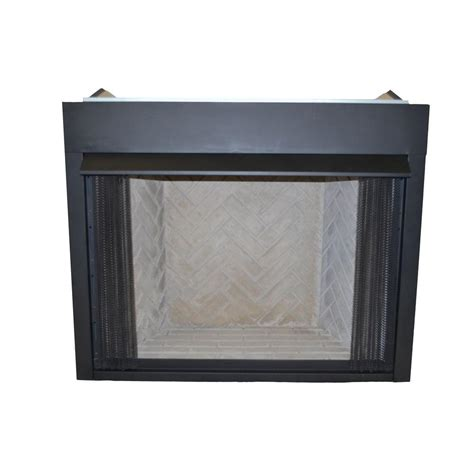 Emberglow Vent Free Fireplace by Emberglow 36 In Vent Free Gas Or Liquid Propane Low Profile Firebox Insert Vflb36 The