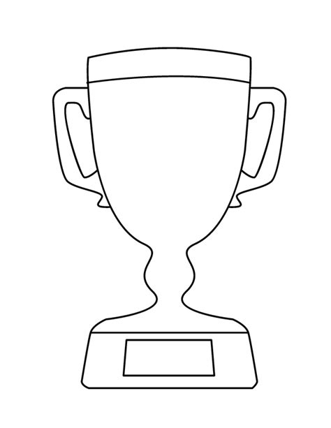 basketball trophy coloring pages image trophy cliparts co