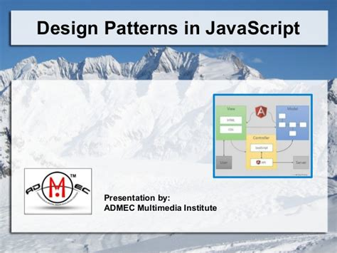 pattern design javascript design patterns in java script jquery angularjs