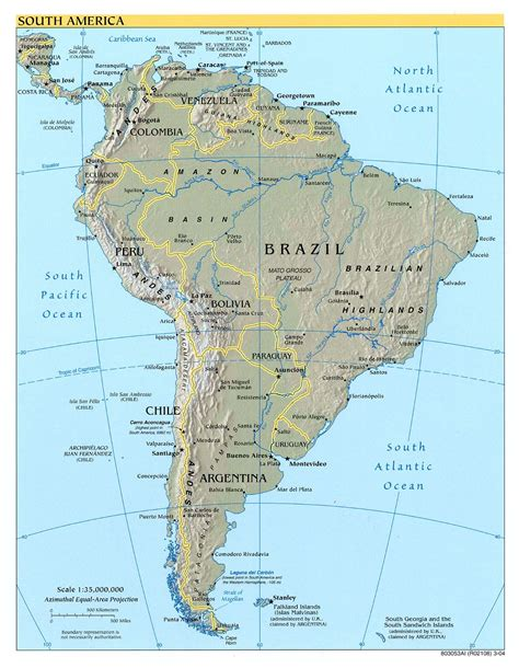 south america map in americas maps perry casta 241 eda map collection ut