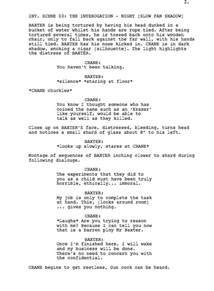 advice rate my debut short film script erased please