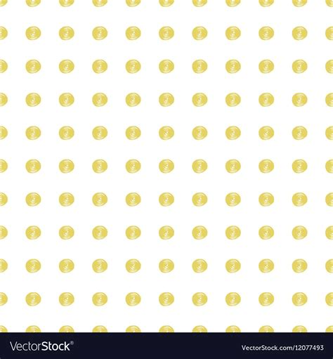 svg marker pattern gold painted marker dots seamless pattern vector image
