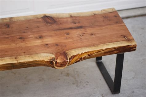 wood slab coffee table arbor exchange reclaimed wood furniture redwood slab
