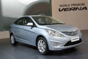 2011 hyundai accent verna model change