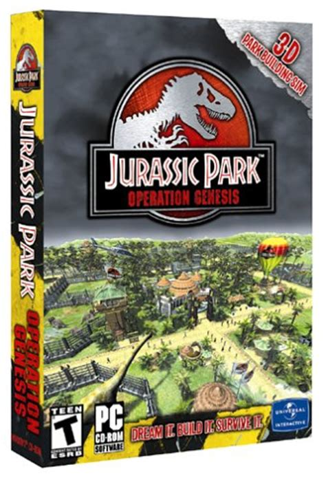 jurassic park operation genesis xbox for sale jurassic park operation genesis pc