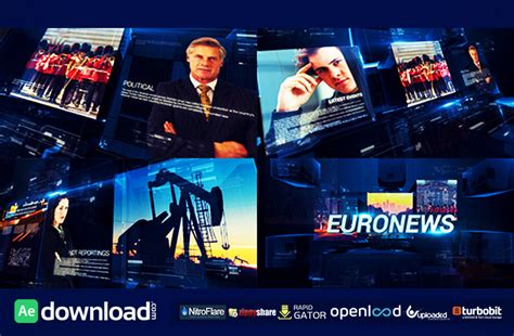 news template after effects tv broadcast news packages videohive free template free