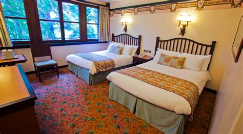 chambre golden forest le disney s sequoia lodge h 244 tels disney wish2dream