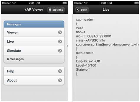 xap home automation protocol