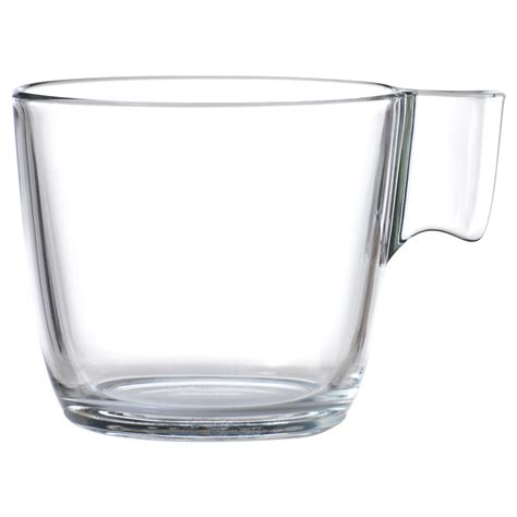 clear glass stelna mug clear glass 23 cl ikea