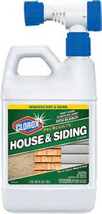Clorox Disinfecting Bathroom Cleaner Clorox 174 Proresults House Amp Siding Cleaner Clorox