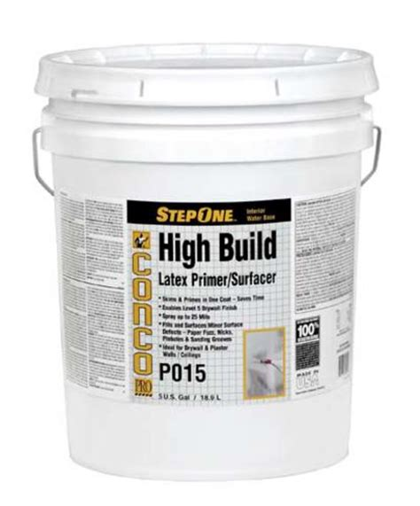 conco p015 interior high build primer surfacer 5 gal