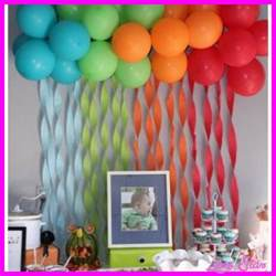 Decorating Ideas For Birthday At Home by 10 Simple Birthday Decoration Ideas At Home Livesstar