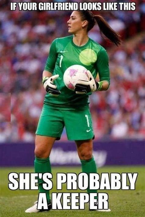 Memes Soccer - hope solo meme soccer pinterest puns hope solo and