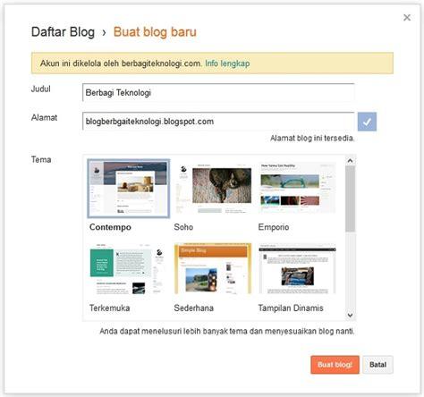cara membuat blog bisnis online begini cara mudah membuat blog untuk bisnis online