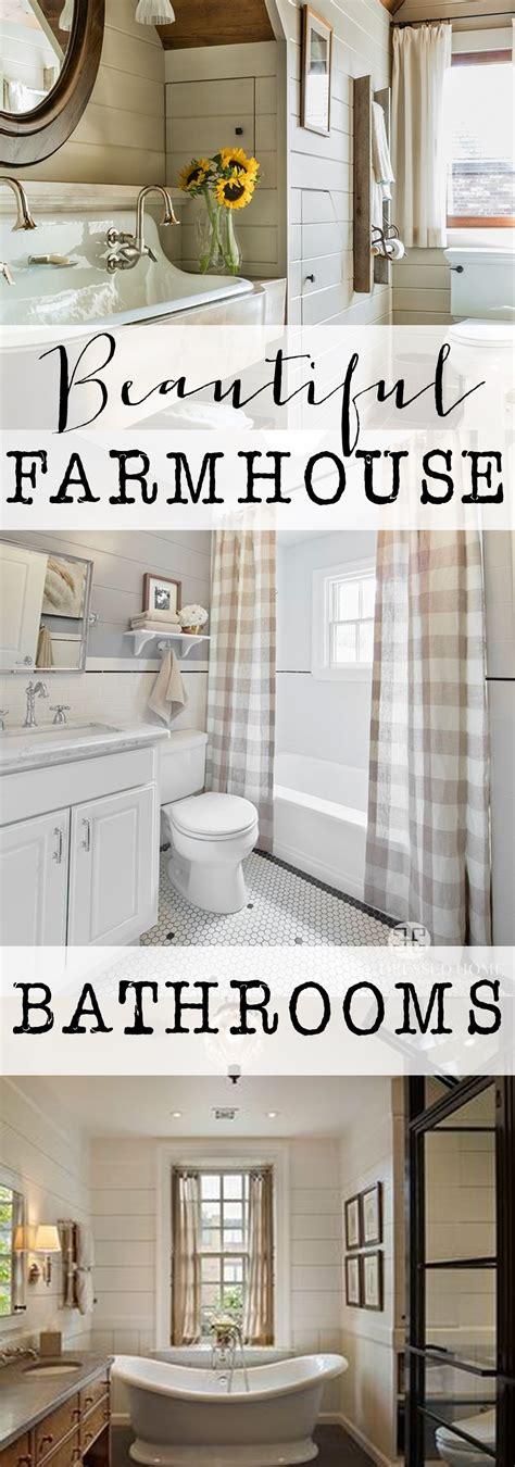 farmhouse bathroom farmhouse bathrooms house of hargrove