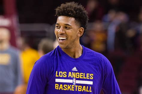 nick young nick young and paloma ford put on show for paparazzi the