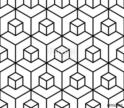 geometric patterns black and white to draw quot vector modern seamless geometry pattern illusion black