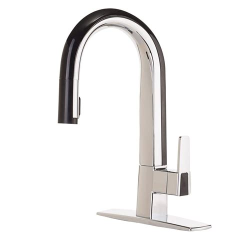 chrome kitchen faucets grohe minta single handle pull sprayer kitchen faucet