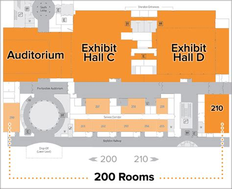 hynes convention center floor plan how 14