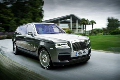 Rolls Royce Cullinan Suv Gets Rendered