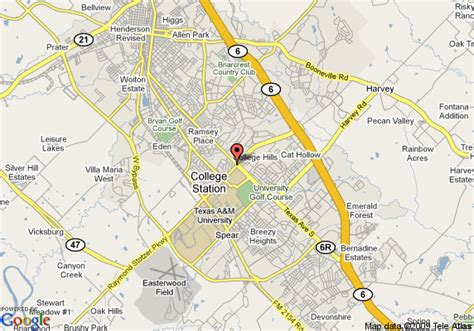 texas station map map of la quinta inn college station college station