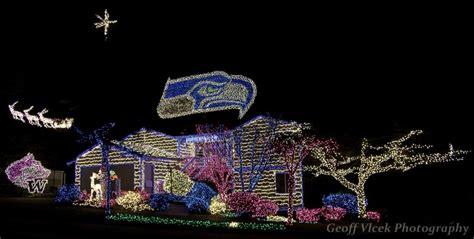 seahawks christmas lights house  kirkland wa christmas house lights christmas