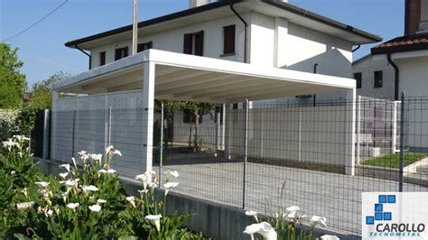 copertura tettoia interesting tettoia copertura auto con colonne e travi in