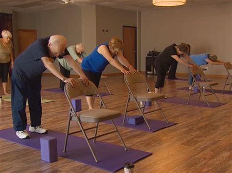 armchair yoga for seniors chair yoga class the humane society of harford county