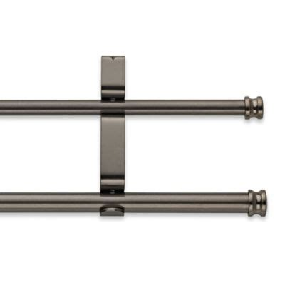 where to buy double curtain rods buy double curtain rod set from bed bath beyond