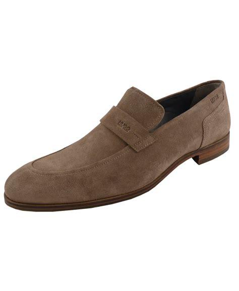 hugo loafer shoes hugo beige 50310010 c modelo suede loafer shoe hugo from