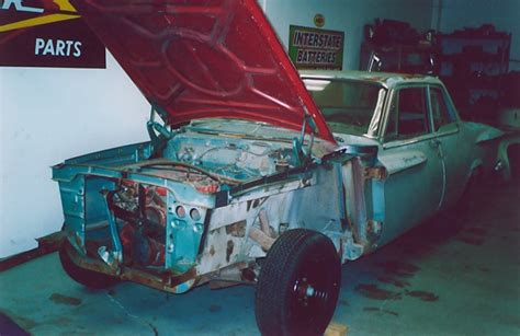 Shell Garage Plymouth by Bob Decided The Front Fenders Were Questionable