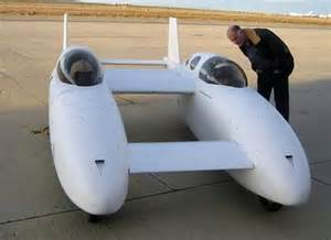 Electric Car Airplane Bipod The Hybrid Raodable Aircraft By Scaled Composites