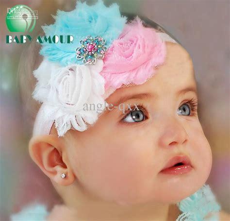 flower baby headbands hairtie bands lace hairband children s hair accessories