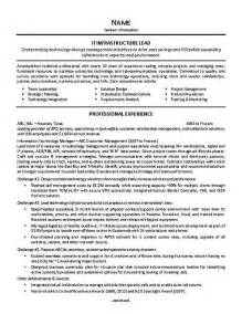 sle resume for team lead position 17 best images about resume exles on resume