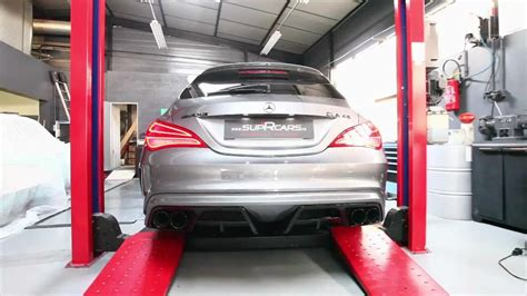 benz cla amg extreme makeover armytrix brabus