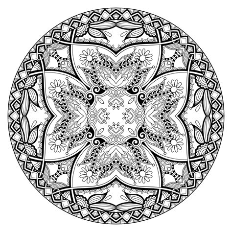 meditative mandala menagerie an advanced coloring book books these printable abstract coloring pages relieve stress and