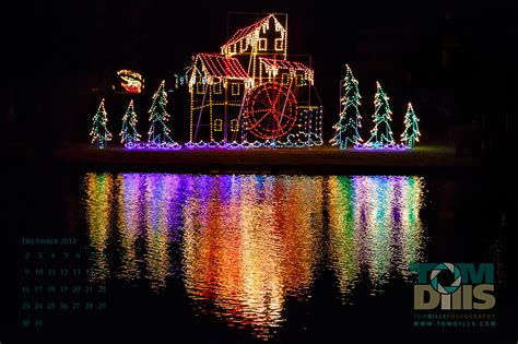 joy of christmas light show at firestone park columbiana