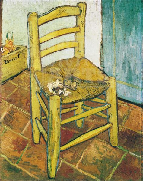 silla de van gogh trabajando en educaci 243 n infantil van gogh 10 la silla de