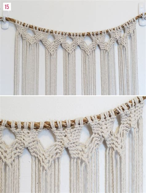 Macrame Wall Hanging Tutorial - diy macrame hanging green wedding shoes weddings