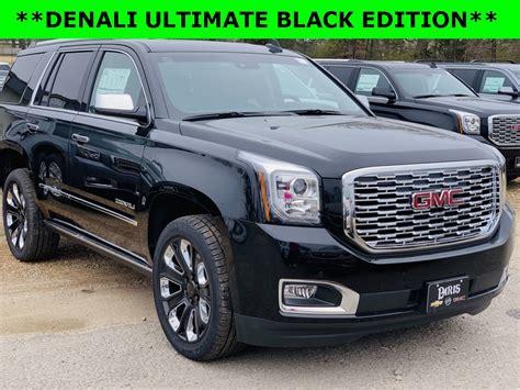new 2019 gmc yukon new 2019 gmc yukon denali stock 39221 onyx black 4wd new