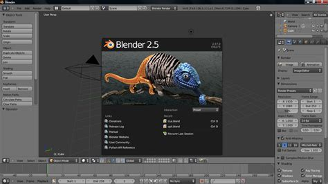 blender 3d software tutorial the best free open source animation software
