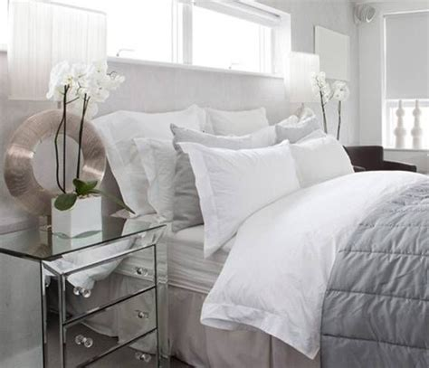 mirrored side table bedroom 17 best images about master bedroom on pinterest grey