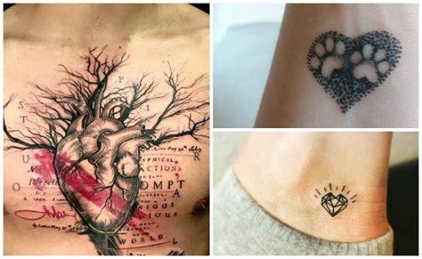 imagenes de corazones tatuados tatuajes de corazones y otros dise 241 os de tatuajes de amor