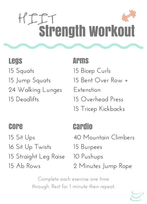 quick and simple bodyweight workout routine for beginners beginner hiit strength training workout that s quick and