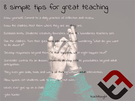 great and simple tips for 8 simple tips for great teaching