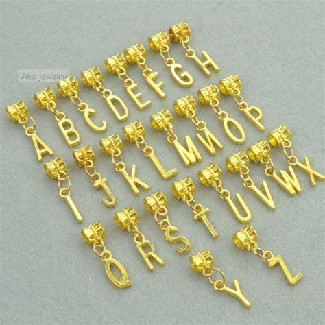 metal alphabet sts for jewelry metal charms for bracelets where to get pandora rings