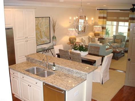 kitchen living space ideas the colors saltmarsh condo on seabrook island sc